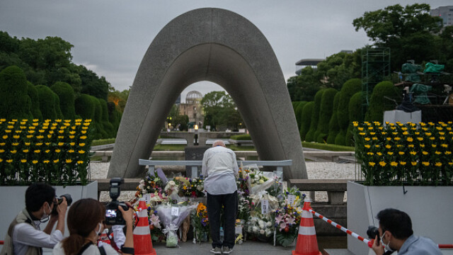75 de ani de la atacul nuclear de la Hiroshima. Ceremonii de comemorare a victimelor - Imaginea 12