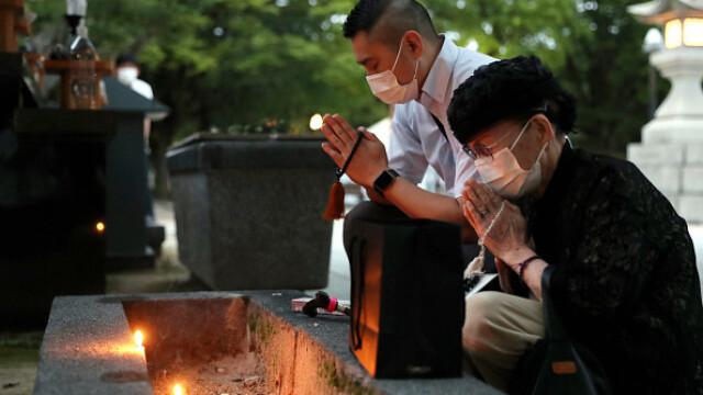 75 de ani de la atacul nuclear de la Hiroshima. Ceremonii de comemorare a victimelor - Imaginea 13