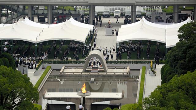 75 de ani de la atacul nuclear de la Hiroshima. Ceremonii de comemorare a victimelor - Imaginea 14