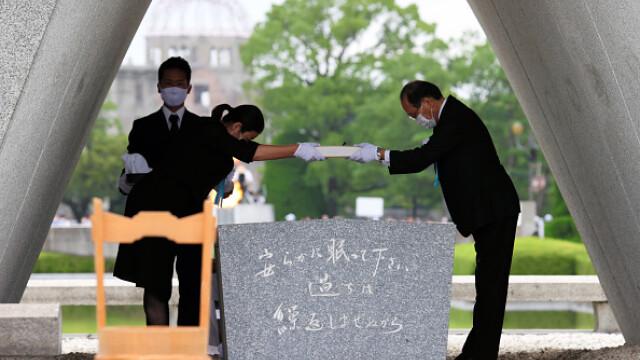 75 de ani de la atacul nuclear de la Hiroshima. Ceremonii de comemorare a victimelor - Imaginea 16