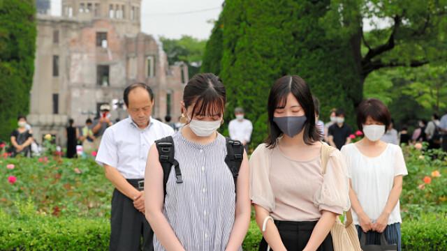 75 de ani de la atacul nuclear de la Hiroshima. Ceremonii de comemorare a victimelor - Imaginea 17