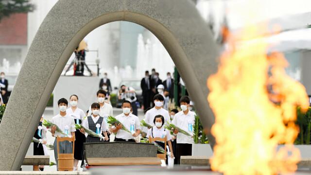 75 de ani de la atacul nuclear de la Hiroshima. Ceremonii de comemorare a victimelor - Imaginea 18