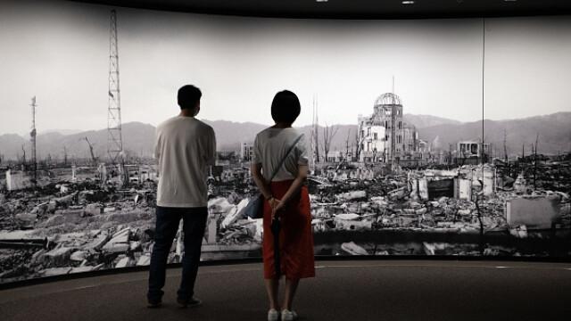 75 de ani de la atacul nuclear de la Hiroshima. Ceremonii de comemorare a victimelor - Imaginea 19