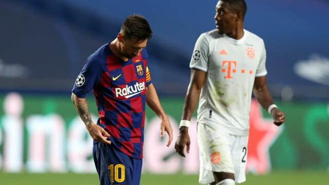 Imaginea care face înconjurul lumii. Cum a fost surprins Messi în vestiar, după dezastrul cu Bayern - Imaginea 4