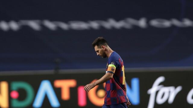 Imaginea care face înconjurul lumii. Cum a fost surprins Messi în vestiar, după dezastrul cu Bayern - Imaginea 3