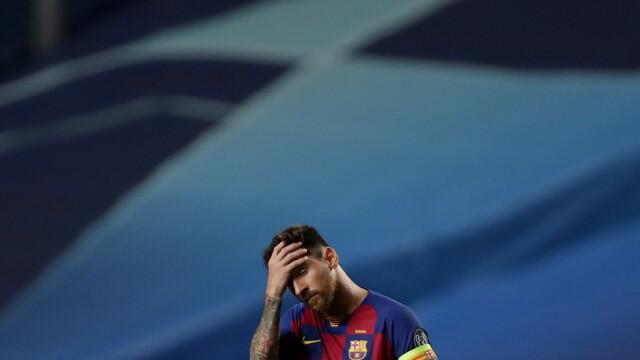 Imaginea care face înconjurul lumii. Cum a fost surprins Messi în vestiar, după dezastrul cu Bayern - Imaginea 2