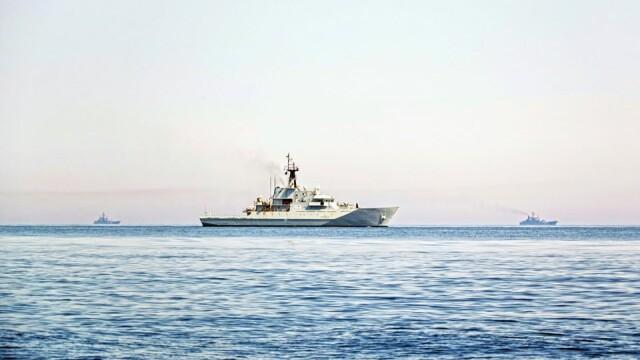 9 nave de război ruse, escortate de Royal Navy şi NATO în apropierea apelor teritoriale britanice - Imaginea 1