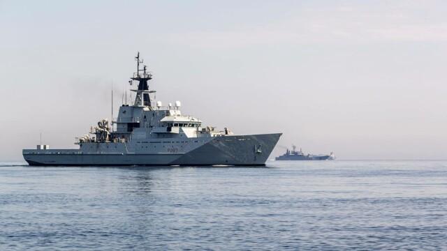 9 nave de război ruse, escortate de Royal Navy şi NATO în apropierea apelor teritoriale britanice - Imaginea 2