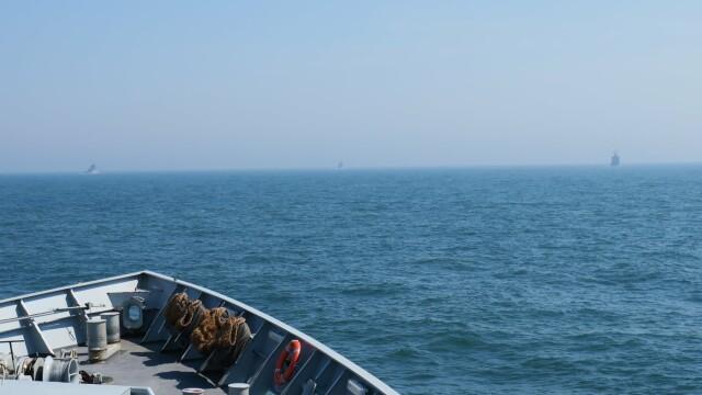 9 nave de război ruse, escortate de Royal Navy şi NATO în apropierea apelor teritoriale britanice - Imaginea 3