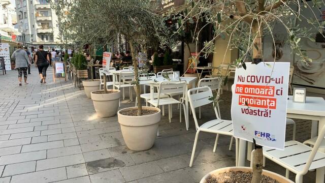 Angajații HoReCa au protestat în fața restaurantelor. Acuză ruinarea industriei - Imaginea 3