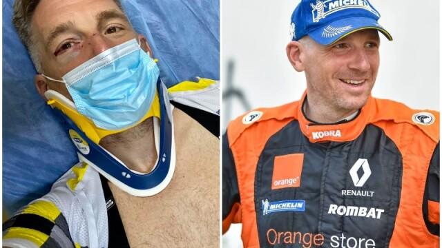 Momentul în care pilotul de raliuri Alex Filip a fost lovit intenționat de un șofer în timp ce era pe bicicletă - Imaginea 3