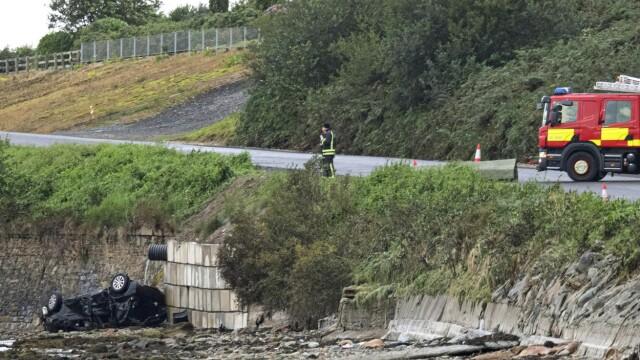 Tragedie pe șosea. Șocul unei femei care și-a văzut soțul și copiii morți în mașină - Imaginea 1
