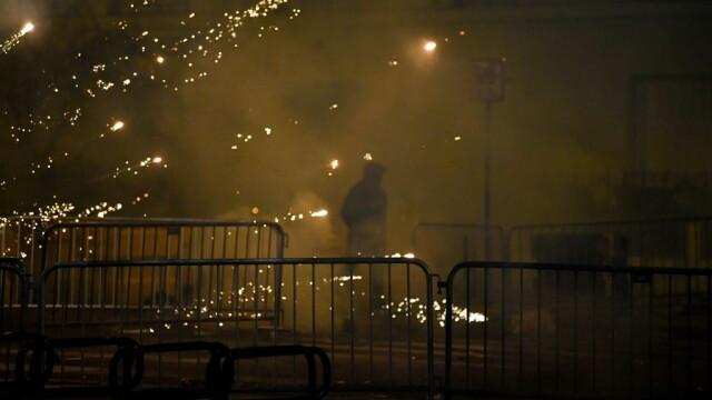 FOTO&VIDEO Violențe la Paris în timpul şi după finala Ligii Campionilor, pierdută de PSG - Imaginea 3