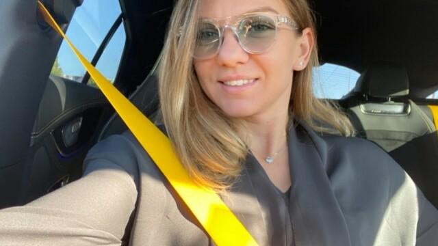 Simona Halep și-a schimbat look-ul. Cum arată după vizita la un salon din București - Imaginea 1