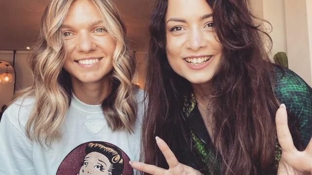 Simona Halep și-a schimbat look-ul. Cum arată după vizita la un salon din București - Imaginea 4
