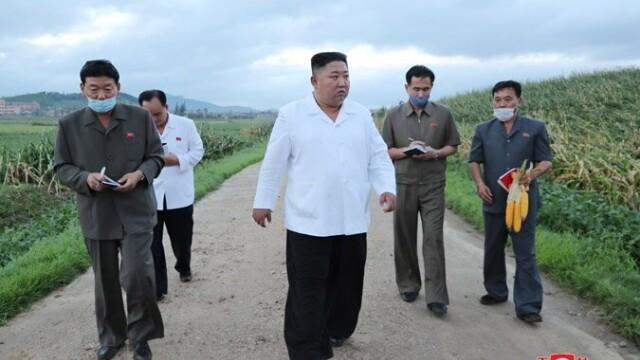 Anunțul dictatorului Kim Jong Un după ce Coreea de Nord a fost lovită de taifunul Bavi - Imaginea 2
