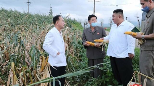 Anunțul dictatorului Kim Jong Un după ce Coreea de Nord a fost lovită de taifunul Bavi - Imaginea 3