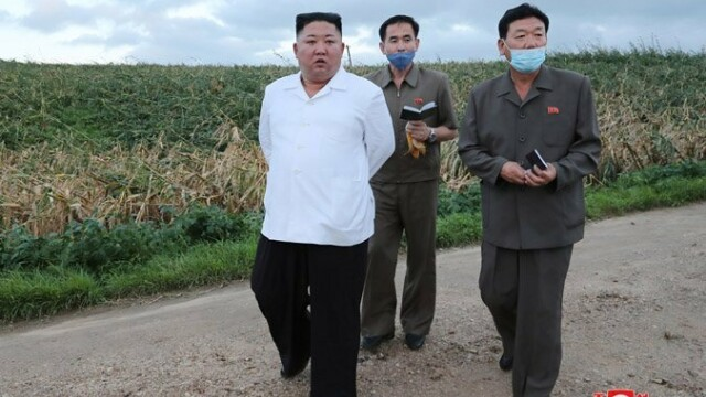 Anunțul dictatorului Kim Jong Un după ce Coreea de Nord a fost lovită de taifunul Bavi - Imaginea 4