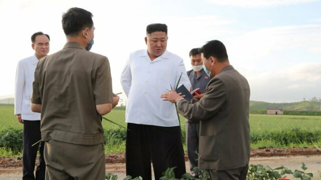 Anunțul dictatorului Kim Jong Un după ce Coreea de Nord a fost lovită de taifunul Bavi - Imaginea 5