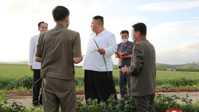 Anunțul dictatorului Kim Jong Un după ce Coreea de Nord a fost lovită de taifunul Bavi - Imaginea 6