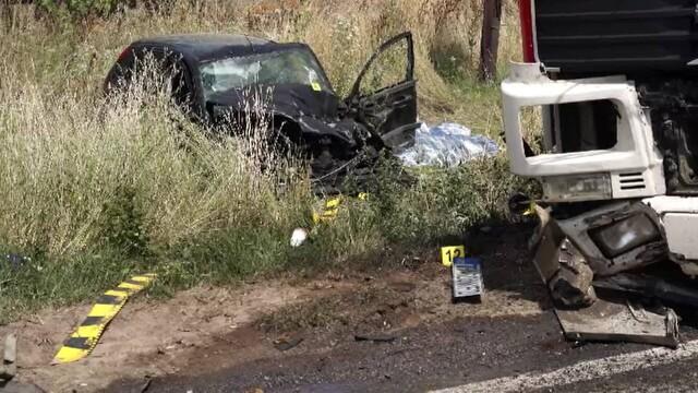 Trei morţi şi patru răniţi în urma unui accident rutier grav, în localitatea Albina din județul Timiș - Imaginea 2