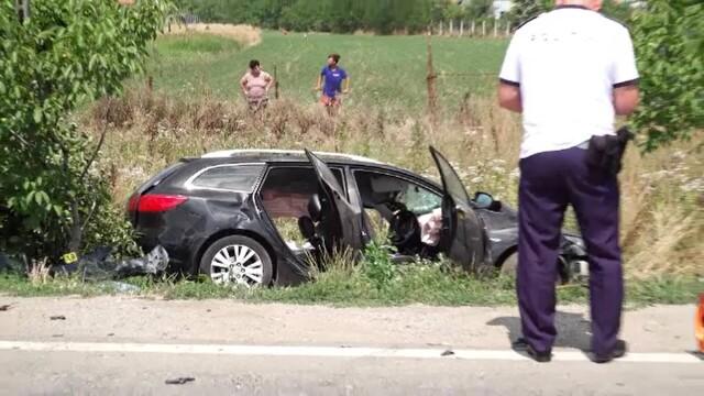 Trei morţi şi patru răniţi în urma unui accident rutier grav, în localitatea Albina din județul Timiș - Imaginea 4
