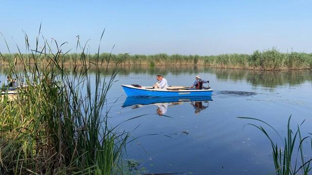 """Klaus Iohannis, în vizită la Parcul Natural Comana. """"Vreau să atrag atenţia asupra importanţei acestor zone naturale"""" - Imaginea 2"""