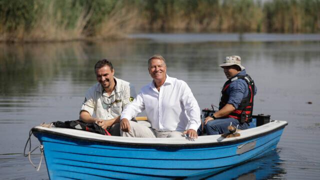 """Klaus Iohannis, în vizită la Parcul Natural Comana. """"Vreau să atrag atenţia asupra importanţei acestor zone naturale"""" - Imaginea 4"""