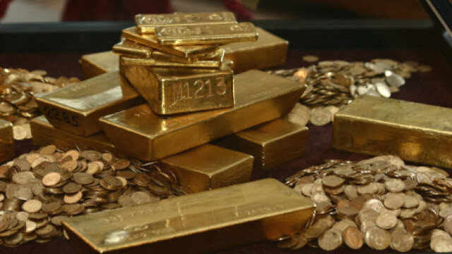 Monede si lingouri de aur