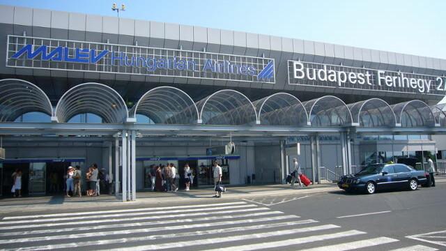 aeroportul din Budapesta