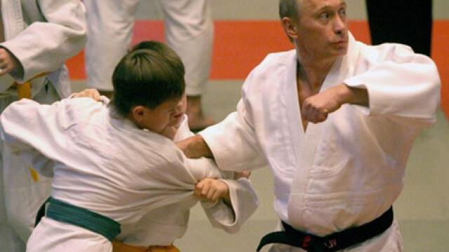Vladimir Putin, judo