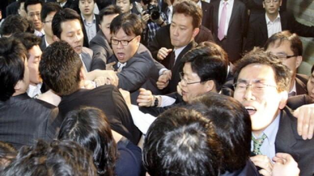 Parlamentari sud-coreeni