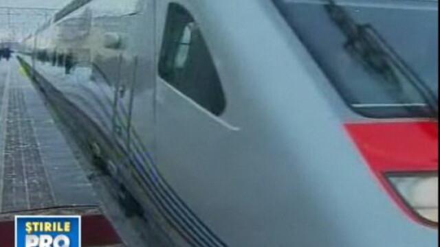 SUA accelereaza. Dau un sfert din PIB-ul Romaniei pe trenuri de mare viteza