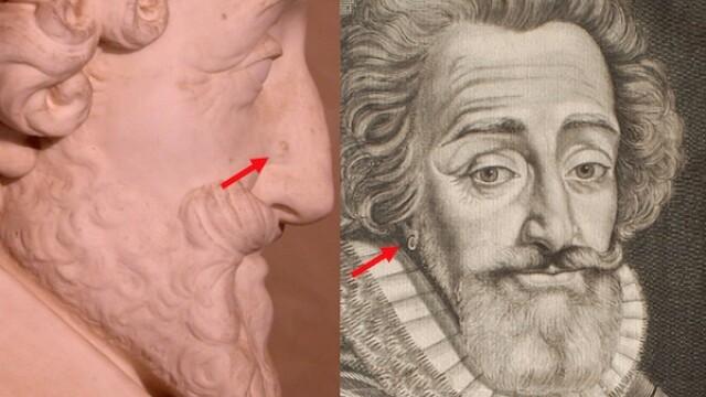 Craniul regelui francez Henric IV, gasit in casa unui pensionar! - Imaginea 2