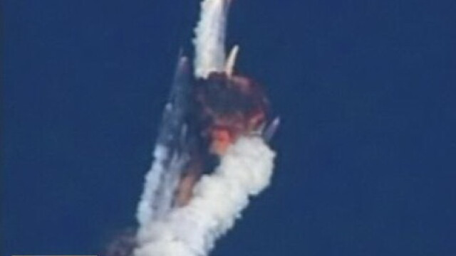 Imagini spectaculoase pe cerul Indiei. O racheta a explodat dupa lansare