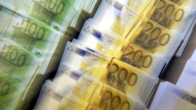 Euro, bancnote, bani