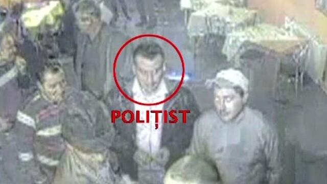 VIDEO. Politist lovit cu o sticla in cap, pentru ca a incercat sa aplaneze un conflict
