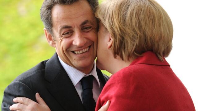 Angela Merkel si Nicolas Sarkozy