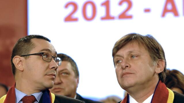 Victor Ponta si Crin Antonescu