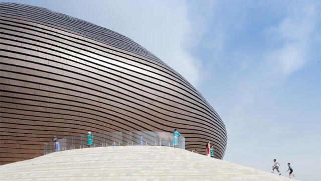 China uimeste din nou. Constructia bizara si costisitoare ridicata intr-un oras pustiu. Galerie FOTO - Imaginea 4