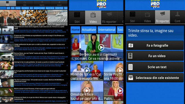aplicatie stirileprotv.ro Android