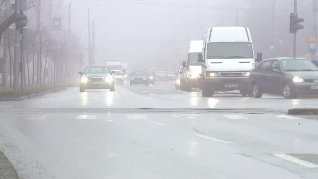 Cod galben de ceata in Bucuresti si 17 judete din nordul, estul si sudul tarii