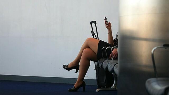 picioare femeie, stewardesa