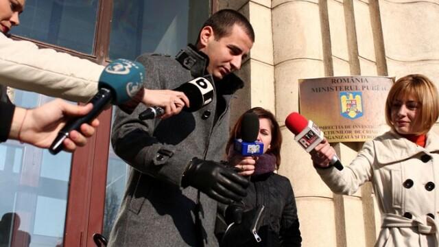 Ianis Zicu a fost adus in fata anchetatorilor in dosarul de proxenetism al Andreei Marta