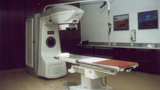 aparat radioterapie