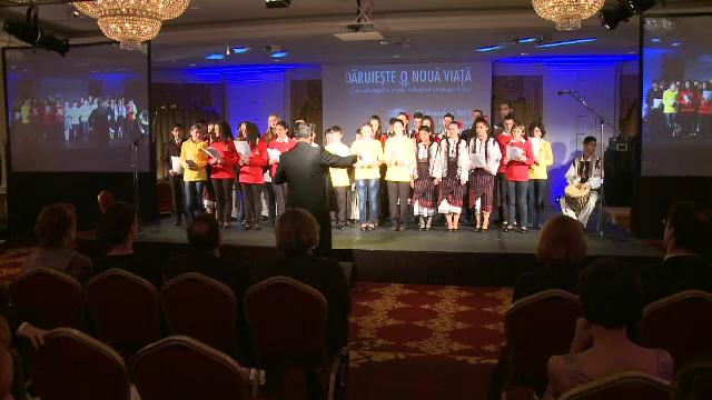 Eveniment caritabil organizat pentru copiii devaforizati de Organizatia Umanitara Concordia