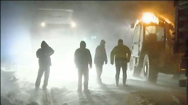 Iarna a pus stapanire pe nordul tarii. Pasul Prislop a fost blocat pe ambele sensuri trei ore