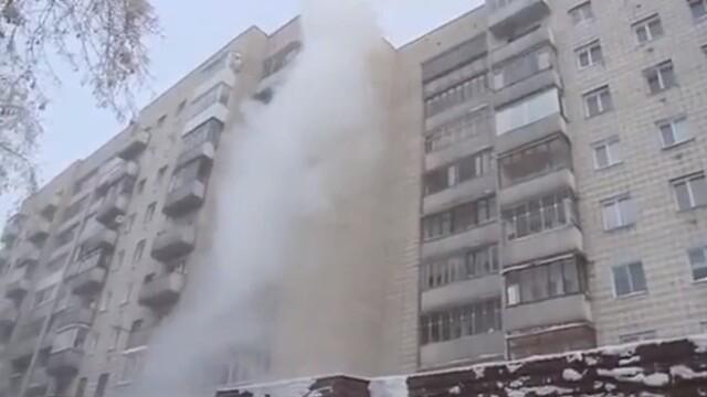 6 morti si 220 de raniti in Rusia, unde temperaturile au coborat pana la -50 de grade