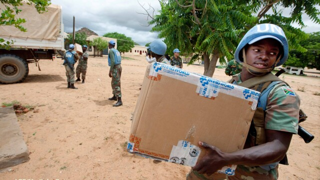 Soldati ONU, Darfur