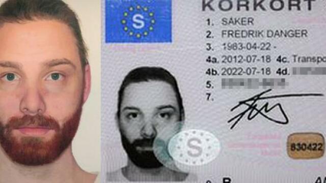 Nimeni nu s-a prins ce si-a introdus acest barbat in permisul auto. Ce se ascunde in imagine